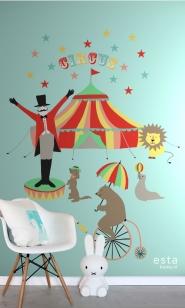muurposter circus