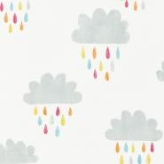 Scion April showers behang wolk met regendruppels