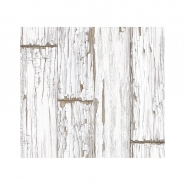 White scrapwood wallpaper