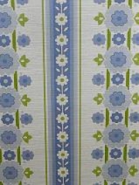blue green flowers in vertical lines