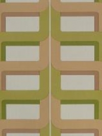 beige green geometric pattern