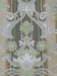 groen bruin grijs medaillon