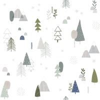 Lilipinso wallpaper pine tree