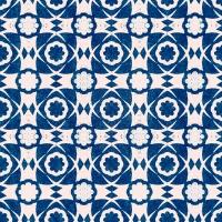 Luxebehang Aegean Tiles Indigo