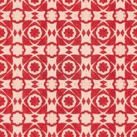 Luxebehang Aegean Tiles rood