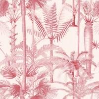 Premium wallpaper Palmera Cubana Pink
