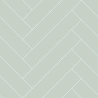 Papier peint chevrons menthe verte-blanc