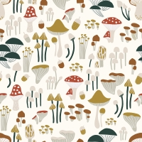 Lilipinso wallpaper mushrooms