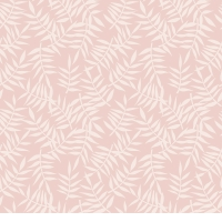 Lilipinso wallpaper leaves pink