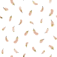 Lilipinso wallpaper feather