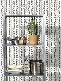 LAVMI wallpaper Hrbs grey and beige geometric figure on a beige background