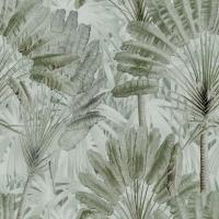Luxebehang Traveller's Palm Neutral