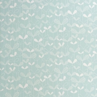 Miss Print behang Saplings lichtblauw