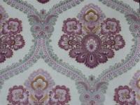 pink grey damask wallpaper
