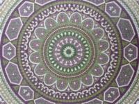 cercles purpre et vert