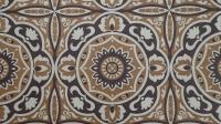 brown flowers vintage wallpaper