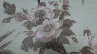 grote bloemen vintage behang