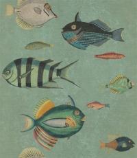 Vissen behang