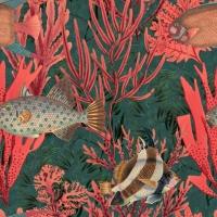 Luxebehang onderwaterwereld