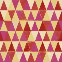 Driehoeken geel rood