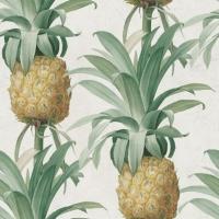 Ananas behangpapier