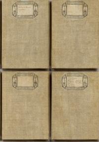 antieke kaften behangpapier