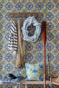 Luxebehang Sardegna Tiles