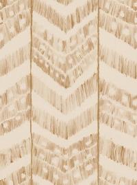 Papier peint de luxe Ikat beige