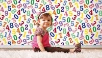 numbers kids wallpaper