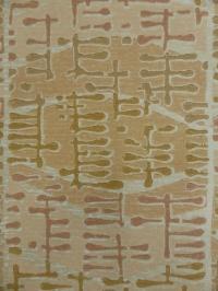 fifties design brown pink