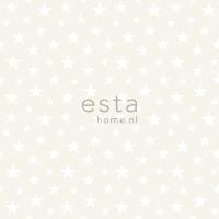 ESTA wallpapar little stars white pearl