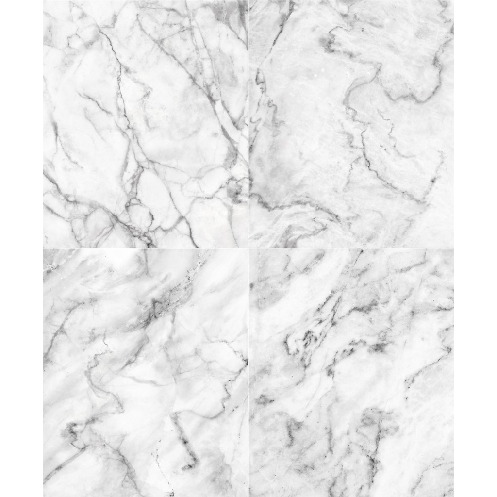 White Grey Marble Wallpaper Zoom Image