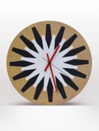 horloge mural Flash noir et blanc