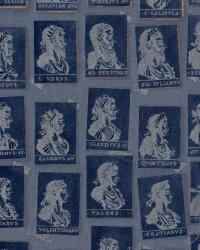 Luxebehang Emperors Blauw