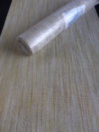 papier peint textile jaune vert