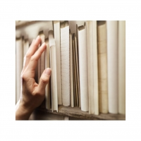 ivory bookshelve wallpaper