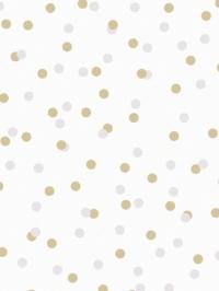 LAVMI behang Atoms geel