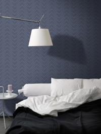 LAVMI behang Follow blauw