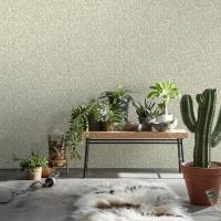 Mosaïc imitation wallpaper beige