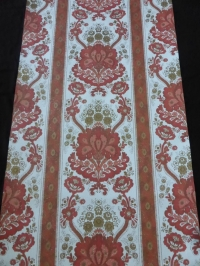 vintage damask wallpaper red