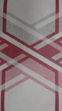 rood grijze geometrische figuur