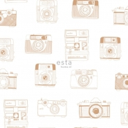ESTA wallpaper polaroid camera copper