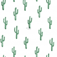 ESTA wallpaper small cactus emerald green