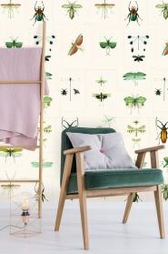 Entomology wallpaper green