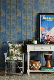 Papier peint de luxe Havanna Regatta Blue