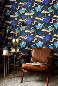 Premium wallpaper Modern Foxy