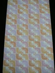 papier peint geometrique en couleurs pastel