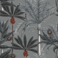 Luxebehang Madagascar Grey