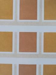 Papier peint vintage ochre brun