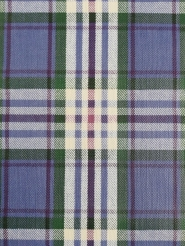 Vintage geometric wallpaper blue tartan
